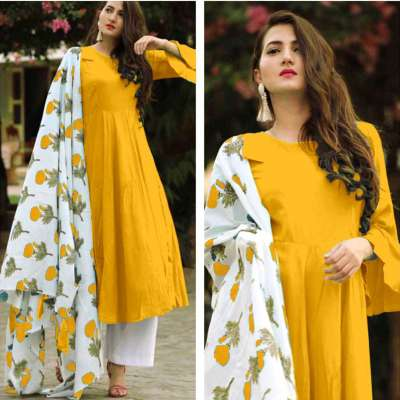Rutba Khan Kurti With Palazzo Dupatta Collection Profile Picture